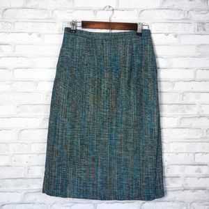 Vintage tweed pencil skirt by Brownstone Studio